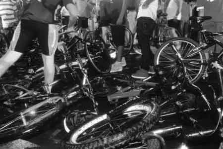 Porto Alegre, Massa Crítica, atropelamento ciclistas