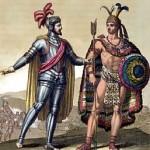 Hernán Cortés e Montezuma