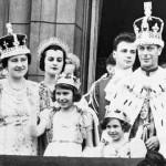 Família Real inglesa, 1937