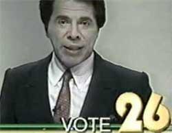 Silvio Santos candidato - 1989