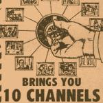 Propaganda de TV a cabo em 1973