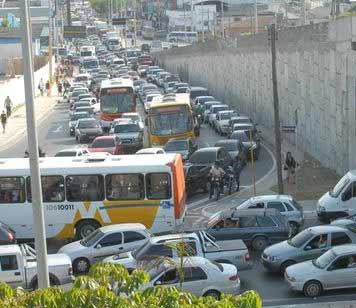 Engarrafamento de trânsito, Manaus
