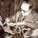 Getulio assina lei de criação da Petrobras