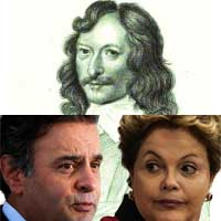 William Lilly, Dilma Rousseff e Aécio Neves