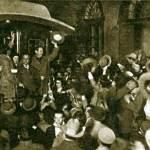 Getulio Vargas deixa o Rio Grande do Sul de trem em 1930