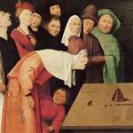 O Prestidigitador, Hieronymus Bosch.