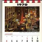 Calendário 1970