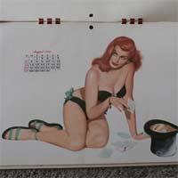 Calendário 1950