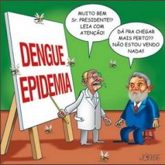 Lula não vê o Aedes aegypti
