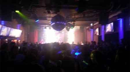 show pirotécnico na boate Kiss, antes do incêndio em Santa Maria