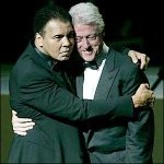 Ali e Bill Clinton