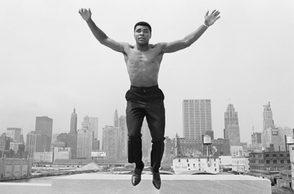 Muhammad Ali pulando