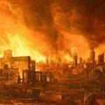 Grande Incêndio de Londres, 1666