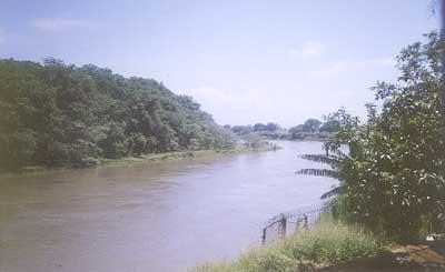 Rio Paraíba em Aparecida