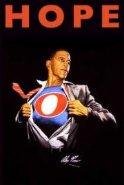 Obama super-herói