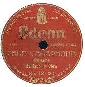 Pelo Telefone em disco