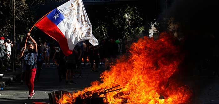 Protestos no Chile, 2019