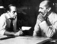 Niemeyer e Lúcio Costa