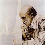 Niemeyer pensativo