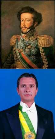 Fernando Collor e D. Pedro I