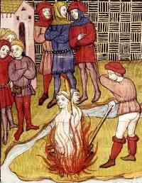 Execução de Jacques de Molay