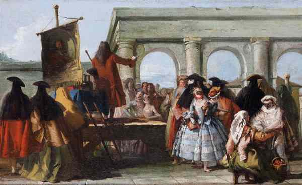 O Charlatão, de Giovanni Domenico Tiepolo.