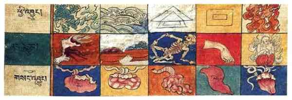 Astrologia Tibetana: símbolos astrológicos e saúde humana
