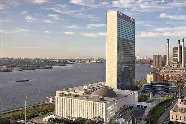 Edifício sede da ONU, Nova York, Oscar Niemeyer