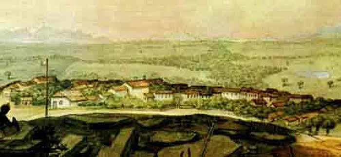 Curitiba por Debret