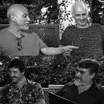 Fernando Fernandse, Waldemar Falcão, Dimitri Camiloto e Carlos Hollanda