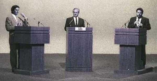 Lula x Collor, debate em 1989