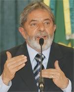 Lula em foto oficial
