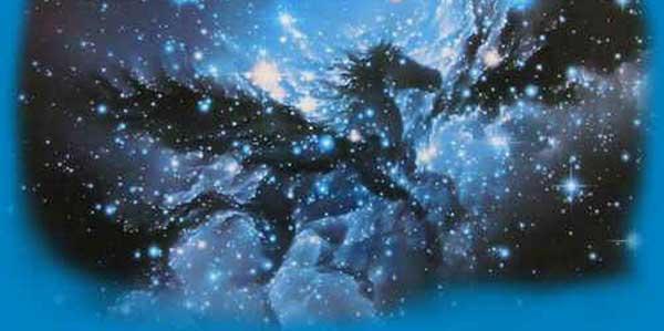 Representação da constelação de Pegasus