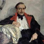 O poeta Mikhail Lermontov