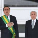 Passagem da faixa presidencial de Temer para Bolsonaro