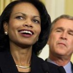 Condoleezza Rice e Bush