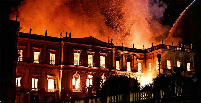 Incêndio do Museu Nacional, 2018