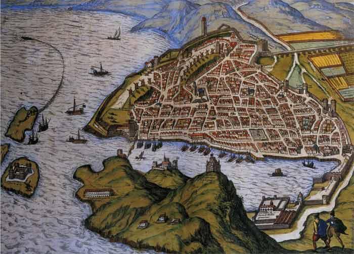 Porto de Marselha no século XIV