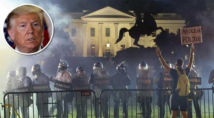 Trump pressionado na Casa Branca
