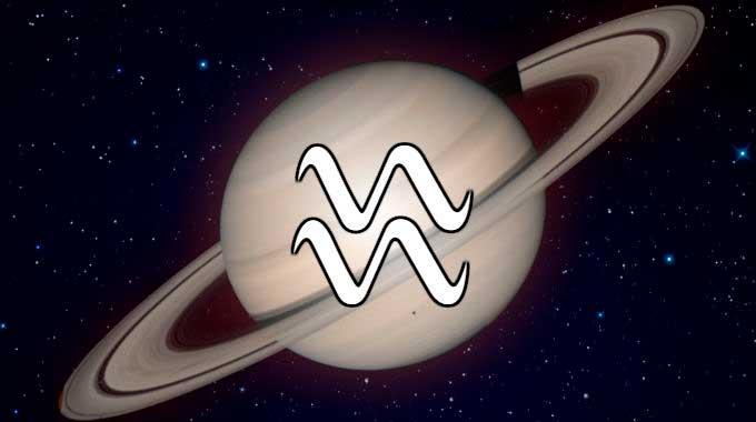 Saturno em Aquário