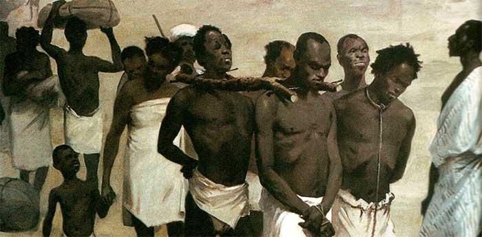 negros escravizados