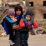 Mãe síria