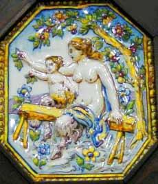 Cerâmica com a Pé de Cabra