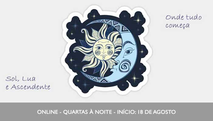 Curso Sol, Lua e Ascendente - Astroletiva