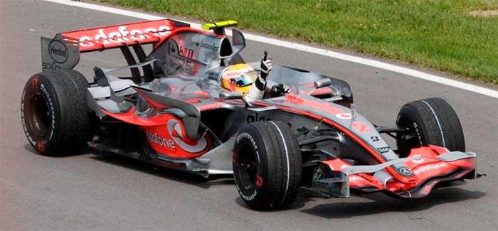 Hamilton, primeira vitória, 2007
